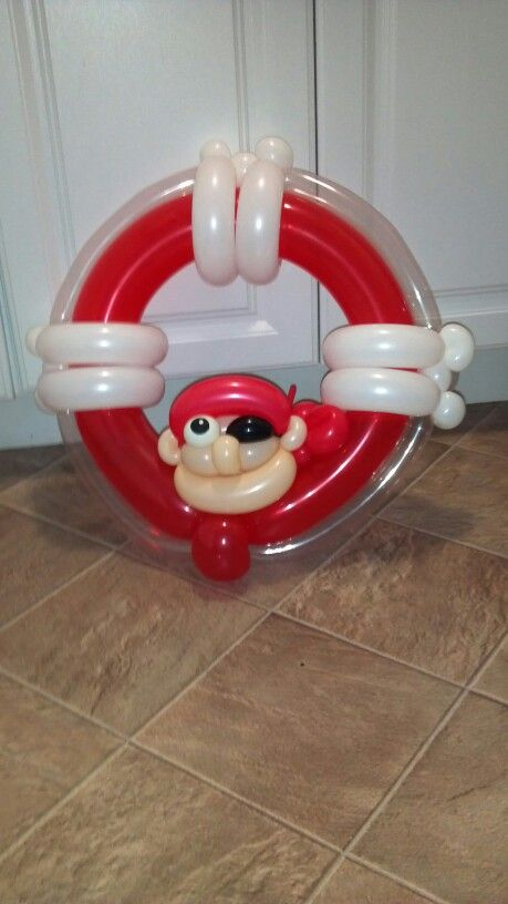 Life saver balloon