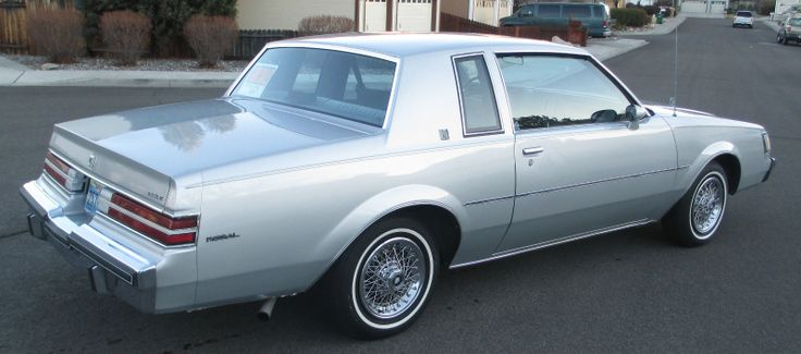 1985 Buick Regal...a clean pallete! What I could do to this car! Takes me back....