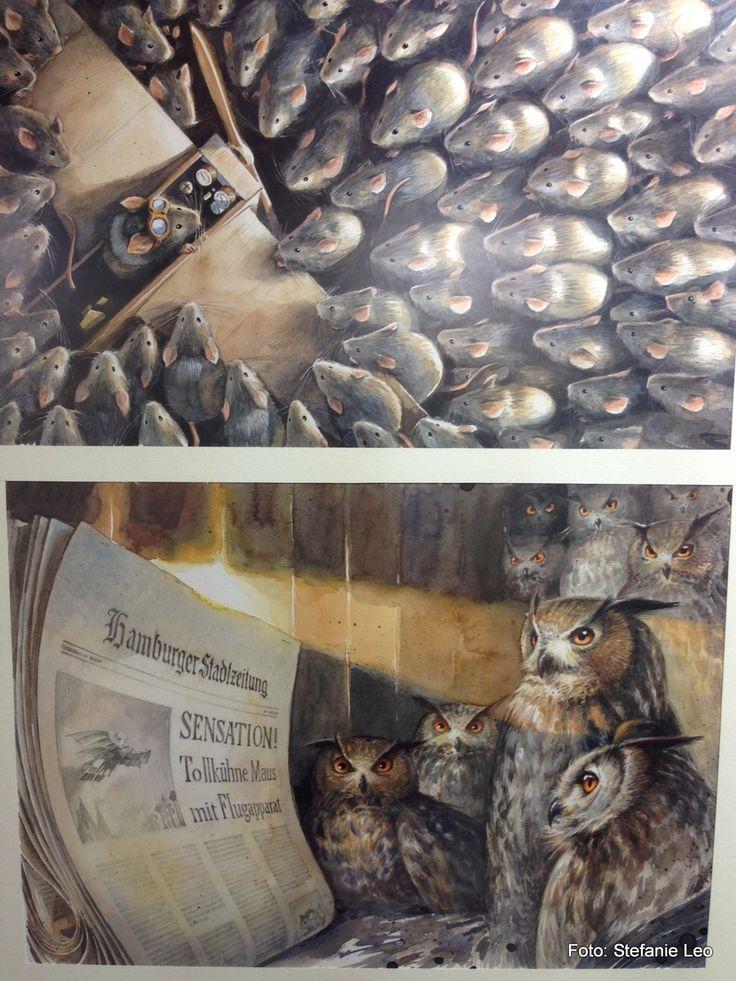 Torben Kuhlmann at Bologna Illustrators Exhibition