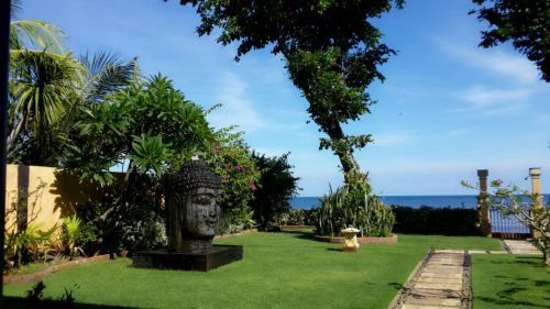 View beach, villa Gilis North of Bali