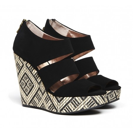"Sole Society ""Sydney"", $49.95Sydney Prints, Platform Wedges, Pattern Wedges, Wedges Shoes, White Wedges, Prints Platform, Girls Shoes, Tribal Prints, Sole Society"
