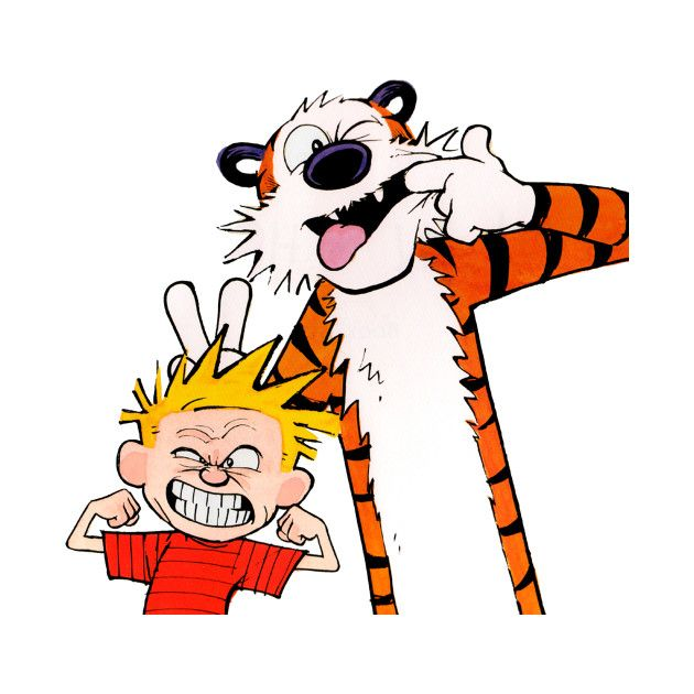 Check out this awesome 'Calvin+And+Hobbes' design on @TeePublic!