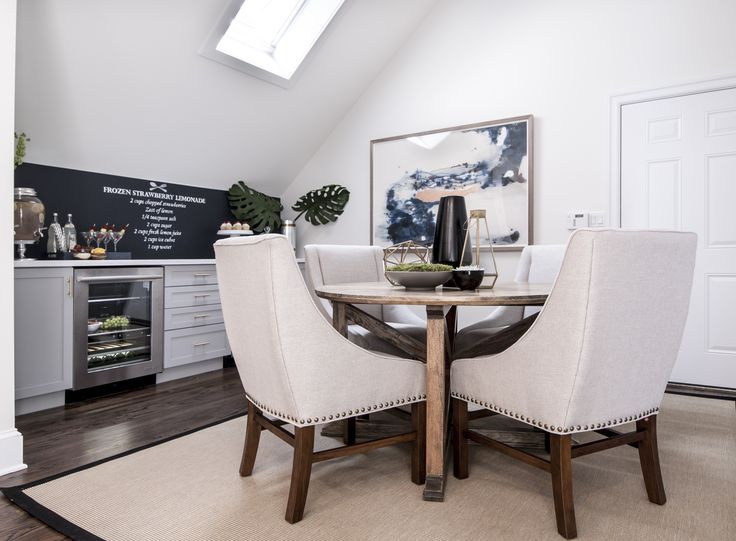 Renee & Charles' DINING ROOM REVEAL   Buying & Selling