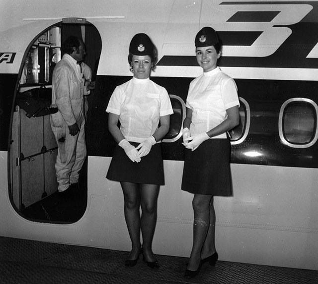BEA (British European Airways) ca. 1971 | Air Hostesses I ...