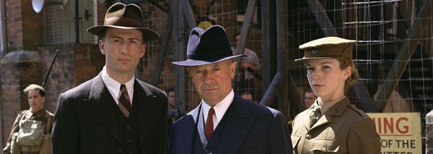 Foyle's War. British WWII time about a detective. Fun and easy late night watch. Perfect for when I need to wind down (and I usually fall asleep to it-ha!)
