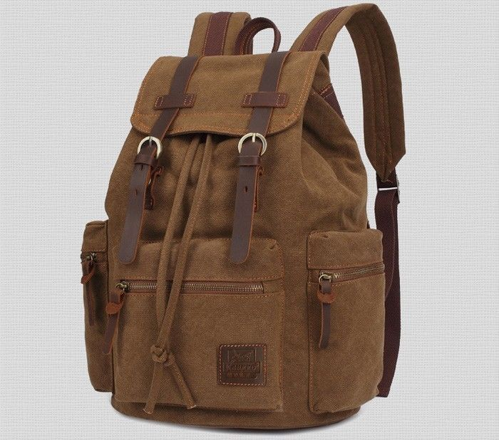 Kaukko Backpack Unisex Outdoor Gear Cotton Bag Casual Style Multi Purpose Bags…
