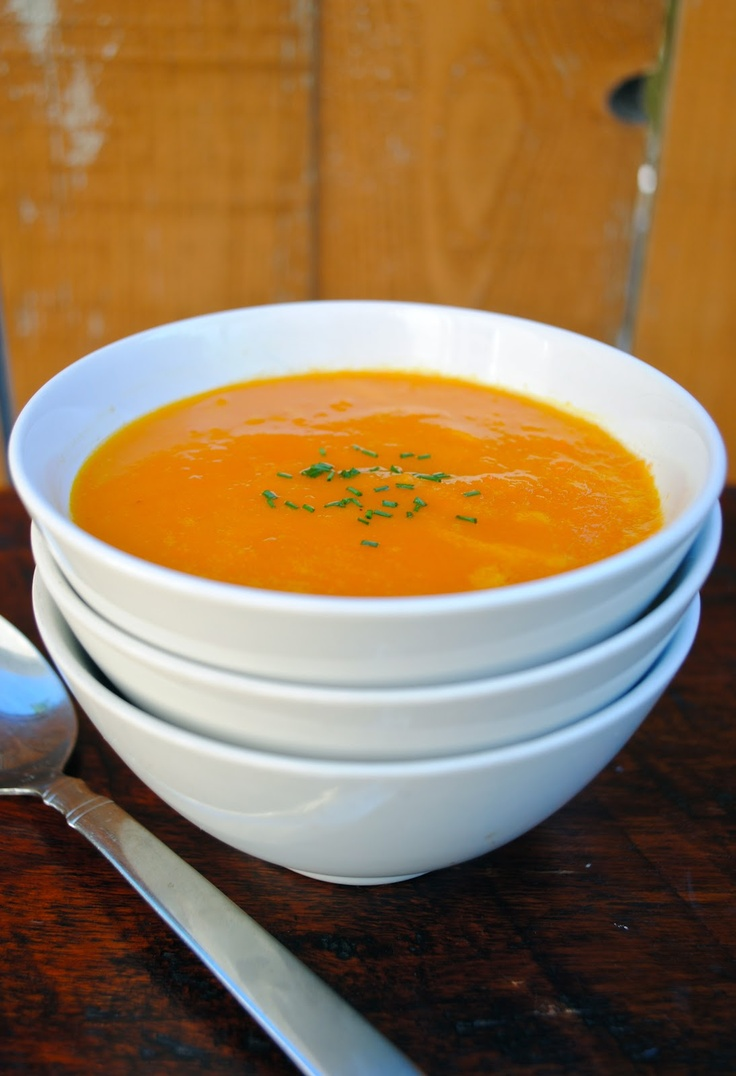 Virtually Homemade: The Silver Palate's Carrot and Orange Soup #fallfest