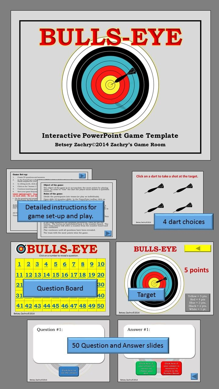 28 best us history teaching tools images on pinterest teaching bulls eye interactive powerpoint game template alramifo Choice Image