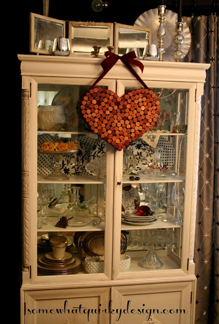 Wine Cork Heart @Kathryn Whiteside Whiteside Whiteside Chamberlin
