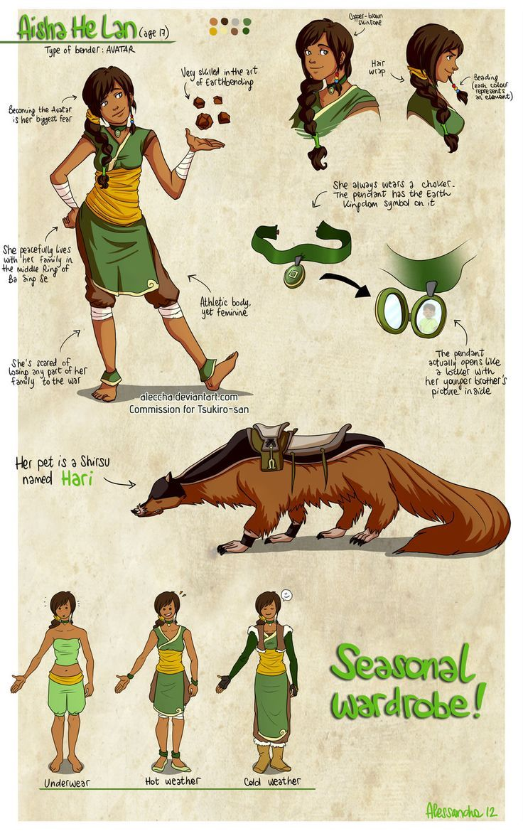 avatar the last airbender animals oc - Google Search