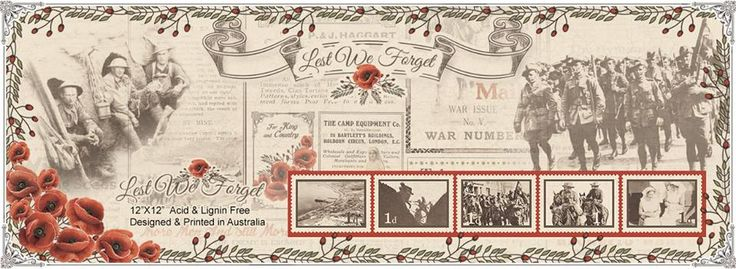 """""""Lest We Forget"""" Australian Military Scrapbook Papers - Genealogy & History News"""