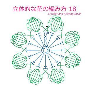 かぎ編み Crochet Japan : 無料編み図