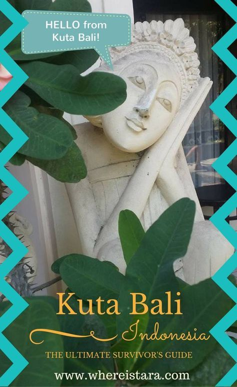 A survivor's guide to Kuta Bali, Indonesia. Everything you need to know to travel to the island of Bali. Wanderlust, adventure and more!