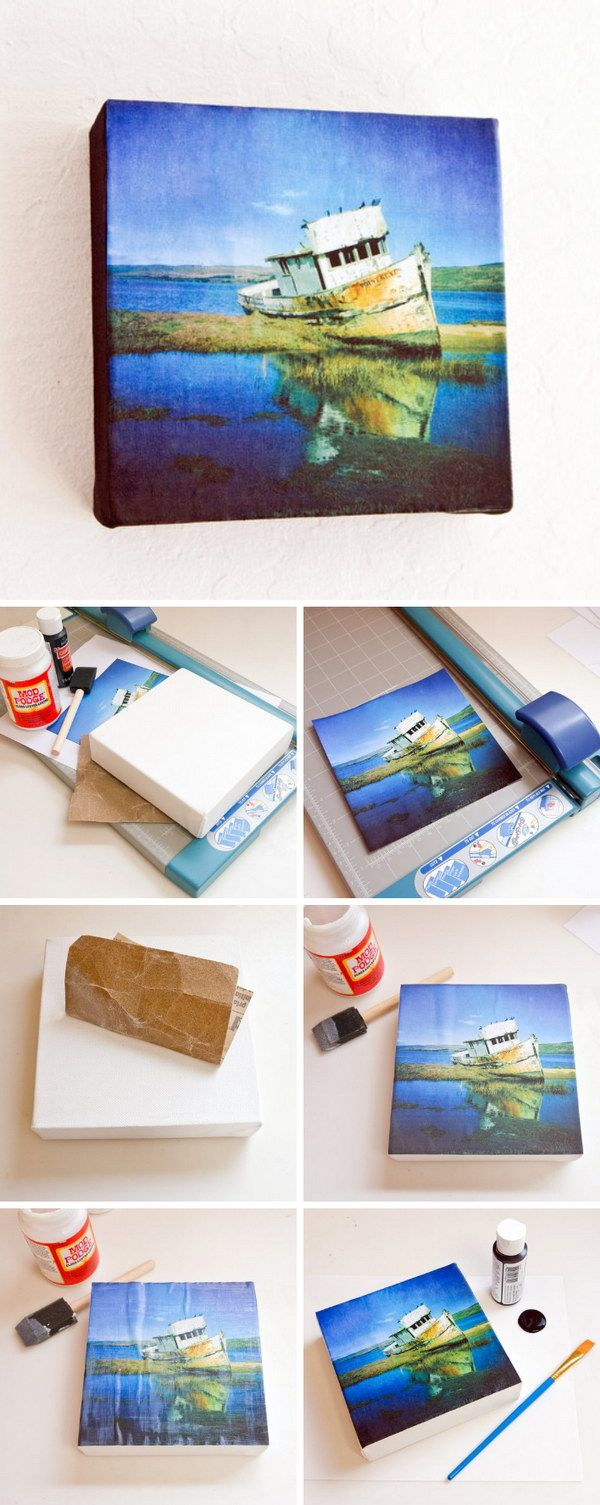 DIY Instagram Canvas Prints. A perfect gift idea for your special one!