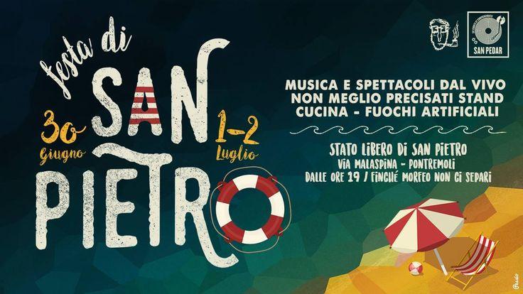 #Lunigiana #Eventi. Ormai ci siamo, la Festa di San Pietro a #Pontremoli è vicina. Un #programma ricco di appuntamenti previsti per il weekend, all'insegna dell'arte, della musica, del divertimento, e ovviamente del #mare: il tema scelto per quest'anno. Non mancate!