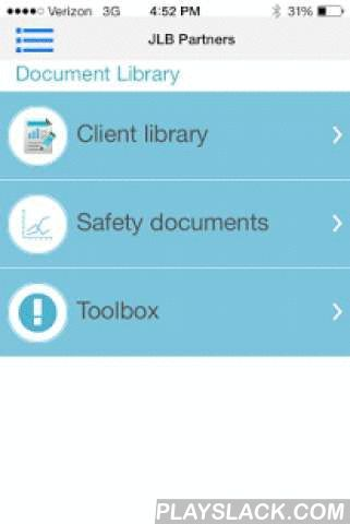 JLB Safety APP  Android App - playslack.com , JLB SAFETY APPToday's busy professional must make valuable use of both of limited resources and time. In today's fast paced world it is too important to stay on top of your projects, not to mention the exposure to regulatory interference that is every present at our work environments.Let JLB Safety Program APP assist you with your busy schedule and reduce your costs and potential regulatory burden, no need to continue:• Writing reports in the…
