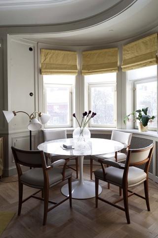 Ilse Crawford's 'Ett Hem'. Pic with my Tulip's table.