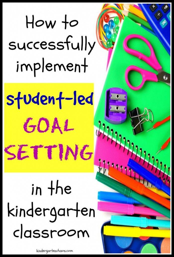 Setting Kindergarten Goals with Students