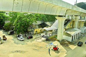 #TeluguNow.com Committee on Hyderabad Metro Rail accident areas Read Full Article..