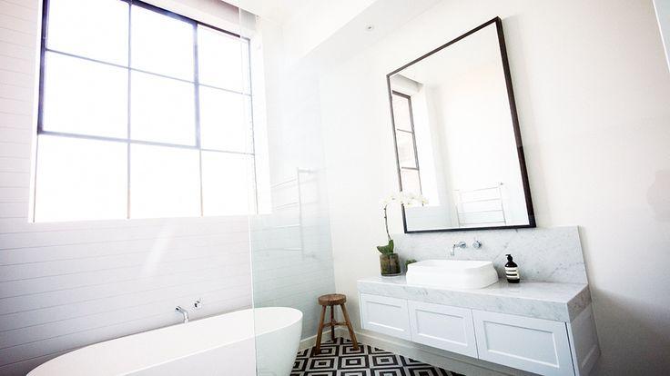 Darren & Dee: Main bathroom | The Block Glasshouse | 9jumpin