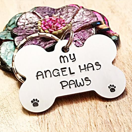 Dog Memorial Gift Dog Loss Keychain Pet by LastingImpressionsCT
