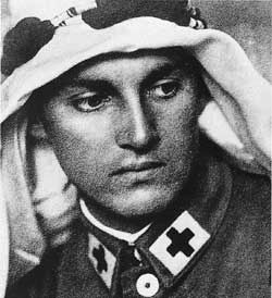 Armin Wegner - WWI german medic who photographed and documented the Armenian Genocide by the Turks 1914-1916, Later was persecuted by the Nazis in WWII for his condemnation of anti-semitism, and was declared a Righteous Person in Israel.    And seriously hot.