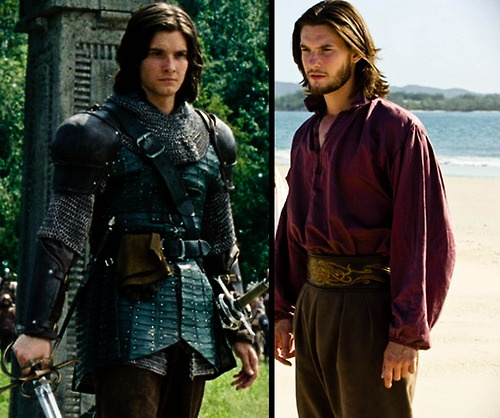 Caspian. It's weird - he looks totally different (to me) in The Voyage of the Dawn Treader.
