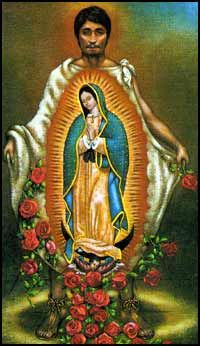 "The Miracles in the image - Our Lady of Guadalupe - The CATHOLIC social media of it's time and how she ""spoke"" to millions."