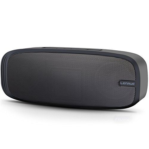 Bluetooth Speaker,LENRUE Wireless Portable Travel Speaker with Superior Sound,10-hour Playtime,Build-in Mic,Hands-free Call,3W Dual-Driver2,AUX Line,and TF Card - Product Description: Driver Power: 3W*2 Battery Capacity: 1500mAh Playing time: About 10hours Working Range: Up to 33 feet TF Card Maximum Capacity: 32GB Why You Choose Our Bluetooth Speakers? --Warranty: 6-month worry-free technical support and after-sales service Multiple Connection Way The blu...