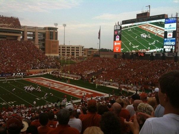 University of Texas in Austin football.