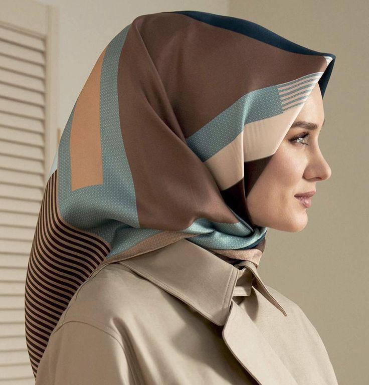 Armine Turkish Silk Hijab Fall 2017 #7848