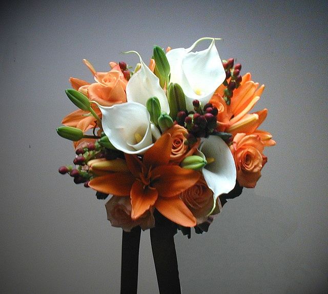 brides bouquet 20091009 by emiljnagengast, via Flickr: Bouquet 20091009, Tiger Lilies, Calla Lilies, Wedding Ideas, Derricks Wedding, Bride Bouquets, Photo, Calla Lily