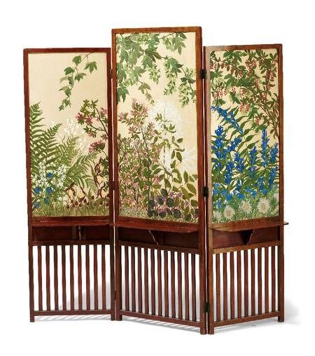 25 best ideas about folding screens on pinterest for Painted screens room dividers