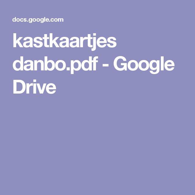 kastkaartjes danbo.pdf - Google Drive