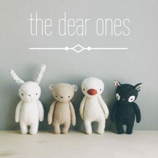Oh Albatross Handmade Upcycled Stuffed Animals on Etsy