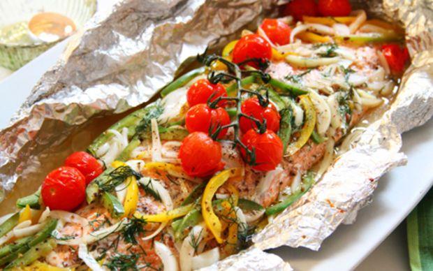 Siba's Baked and Topped Salmon Recipe by Siba Mtongana