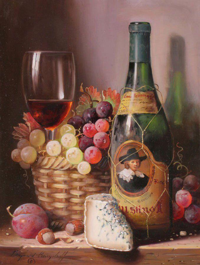 картинки для декупажа с сыром и вином