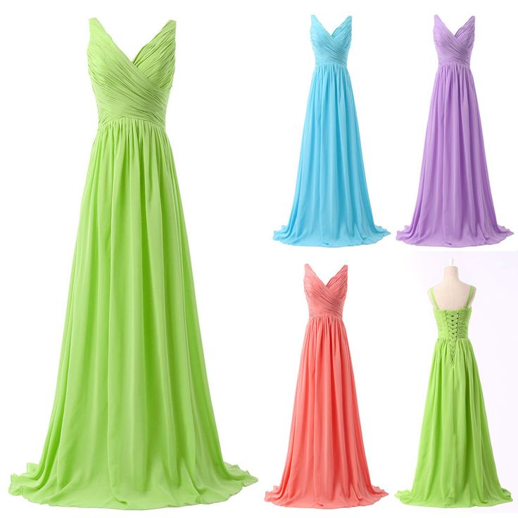 2014 New Sexy Chiffon Prom Ball Cocktail Party Wedding Dress Bridal Evening Gown #GraceKarin #BallGown #Cocktail