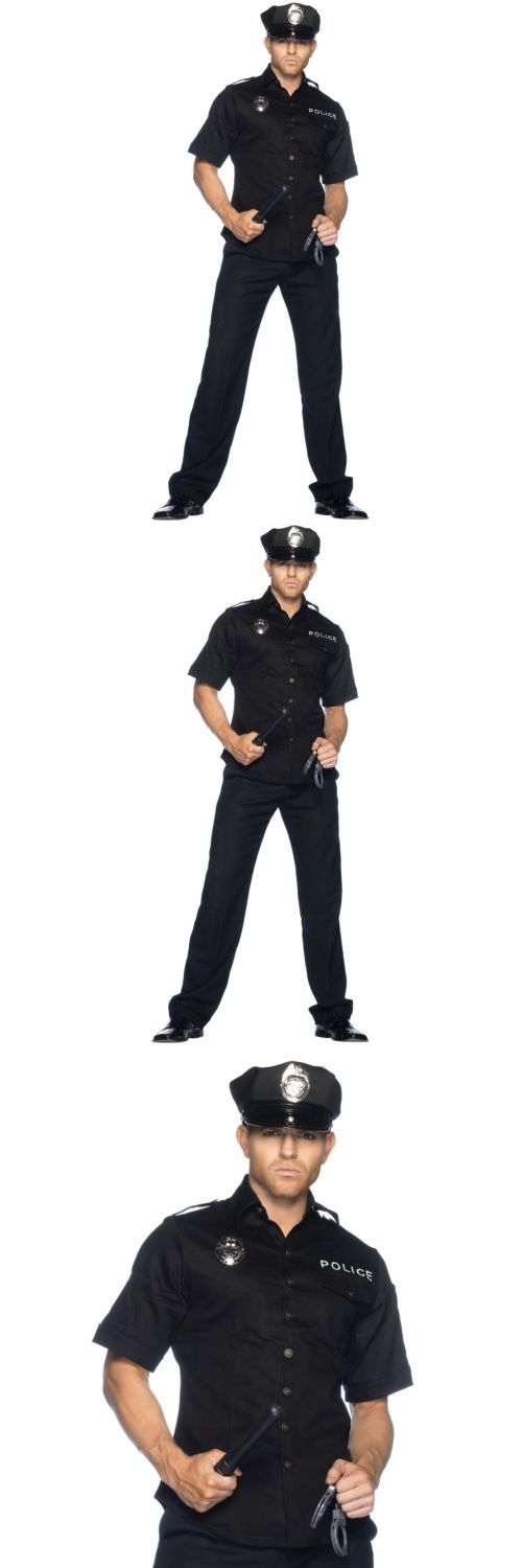 Men 52762: Police Costume Adult Cop Officer Halloween Fancy Dress -> BUY IT NOW ONLY: $55.95 on eBay!
