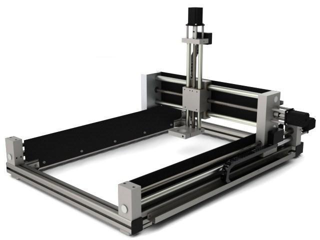 Bauplan CNC Fräsmaschine 3D Drucker CNC Portalfräsmaschine