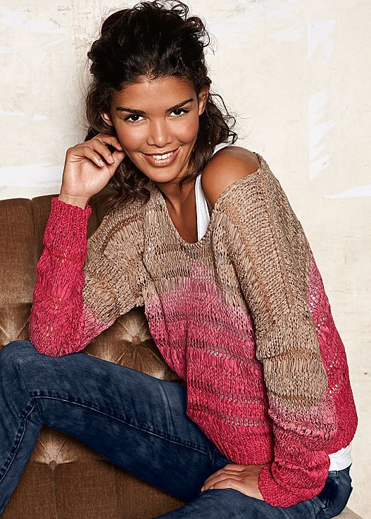 Style watch! Currently loving this ombre sweater and we think you will too! Venus ombre sweater.