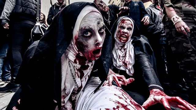 Zombie nuns at Stockholm Zombie Walk 2013 | Flickr - Photo Sharing!
