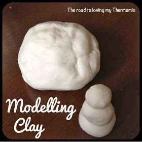 The road to loving my Thermomix: Modelling Clay -- make and give this as gift or use it to model your own persoalized gifts... Napkin rings, pendants or dollhouse decor anyone?