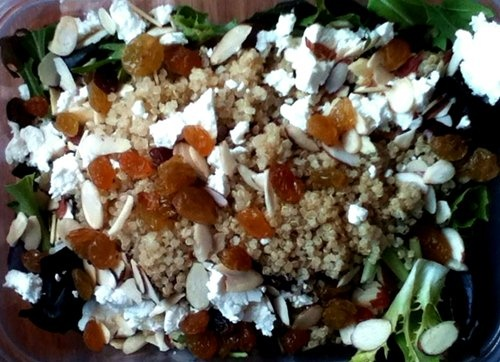 , high protein Quinoa tossed salad, superb for lunch time!: Protein ...