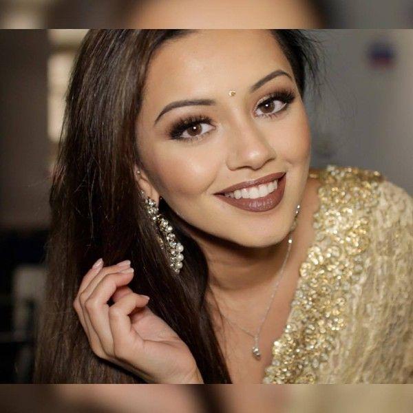 "Kaushal Beauty Wedding: Kaushal Beauty On Instagram: ""Brown Lipstick Is"