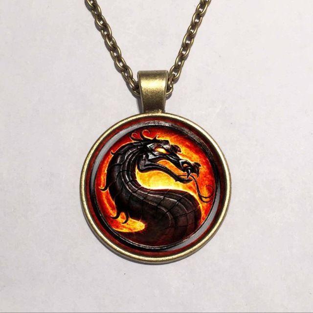 Glazen Koepel hanger hoge kwaliteit De brave Dragon ketting Game Of Thrones hanger hot movie sieraden LY48