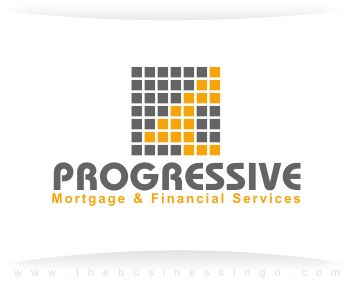 Custom Business Logo Design Portfolio-Mortgage Financial