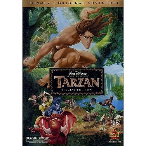 """Disney's """"Tarzan"""" Widescreen 2-Disc Special Edition DVD Set"""