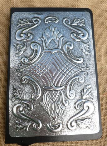 Another Vintage Journal.  Hand crafted by Caroline @ Pewter Concepts