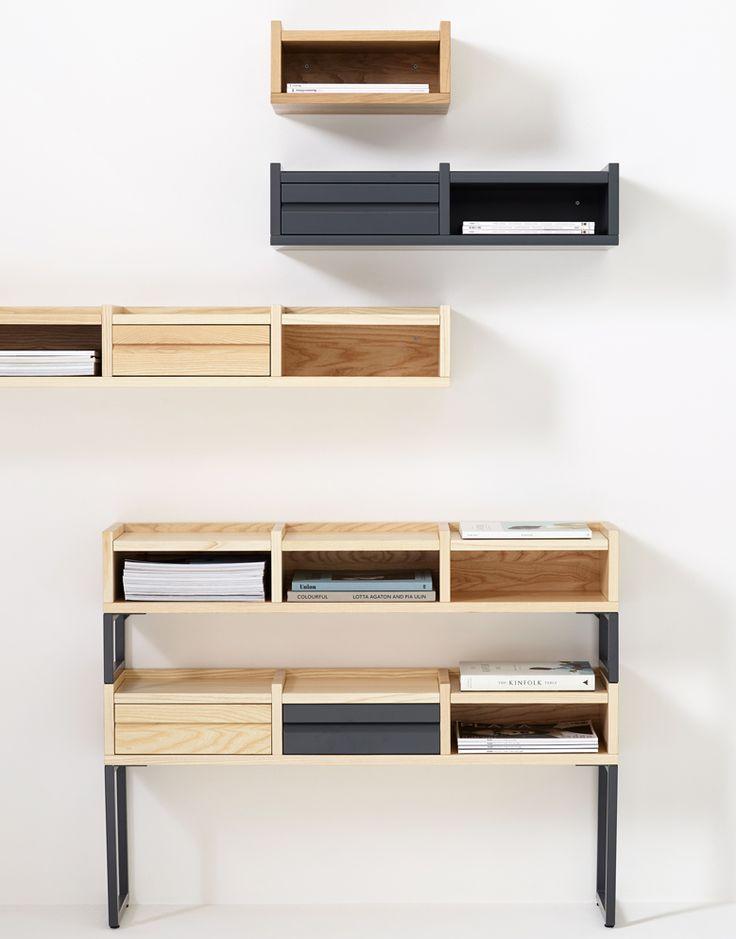 Estanteria colgante 1KM KA&S DIHWEB Tienda de decoración online. Productos de diseño y decoración, accesorios para el hogar, muebles de comedor y salón